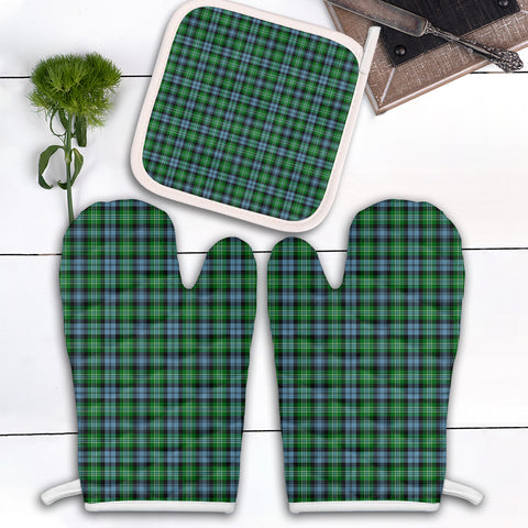 Arbuthnot Ancient Clan Tartan Scotland Oven Mitt And Pot-Holder (Set Of Two)