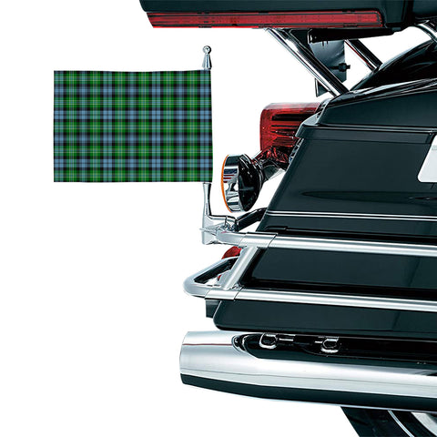 Arbuthnot Ancient Clan Tartan Motorcycle Flag