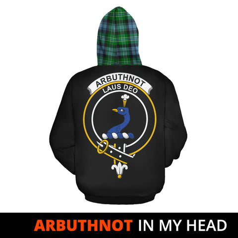 Arbuthnot Ancient In My Head Hoodie Tartan Scotland K9