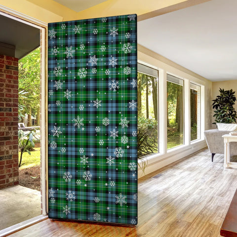 Arbuthnot Ancient Christmas Tartan Door Sock Cover