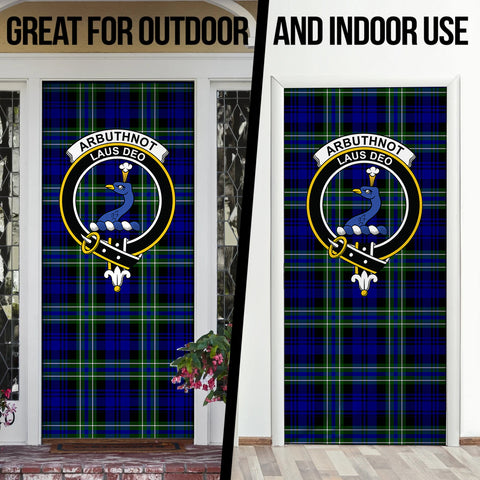 Arbuthnot Modern Tartan Door Sock Cover