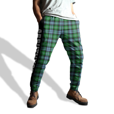 Image of Arbuthnot - Tartan All Over Print Sweatpants - BN