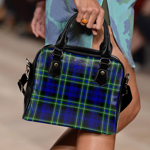 Arbuthnot Modern Tartan Shoulder Handbag for Women | Hot Sale | Scottish Clans