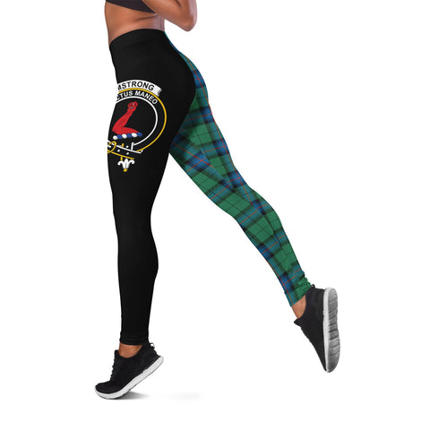 Image of Armstrong Ancient Crest Tartan Leggings | Over 500 Tartans | Special Custom Design