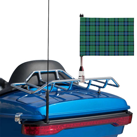 Armstrong Ancient Clan Tartan Motorcycle Flag