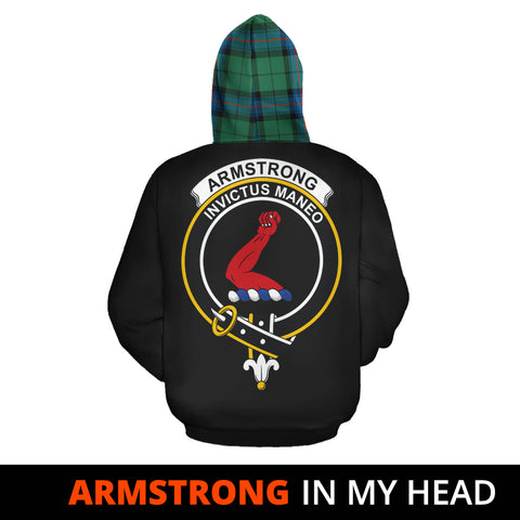 Image of Armstrong Ancient In My Head Hoodie Tartan Scotland K9