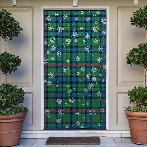 Image of Armstrong Ancient Christmas Tartan Door Sock Cover