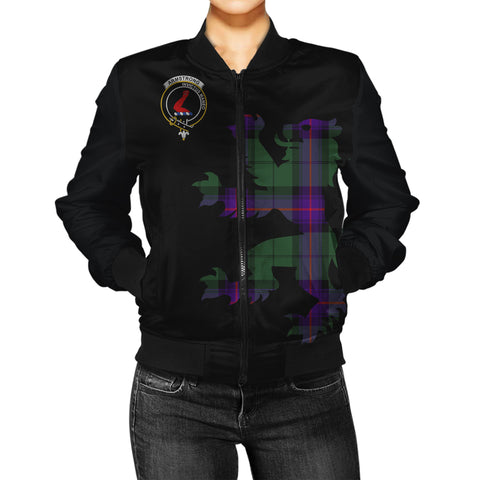 Armstrong Tartan Lion & Thistle Women Jacket | scottishclans.co