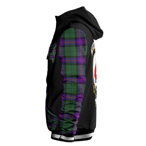 Armstrong - Tartan All Over Print Hoodie - BN