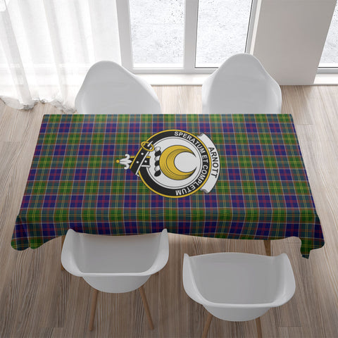 Image of Arnott Crest Tartan Tablecloth | Home Decor
