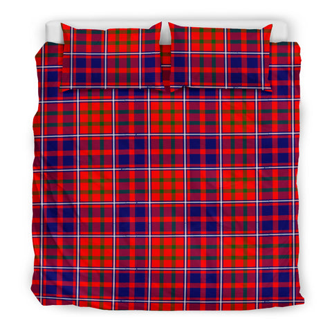 Image of Cameron of Lochiel Modern tartan bedding, Cameron of Lochiel Modern tartan duvet covers, Cameron of Lochiel Modern plaid king bed, bedding sets queen, twin bedding sets