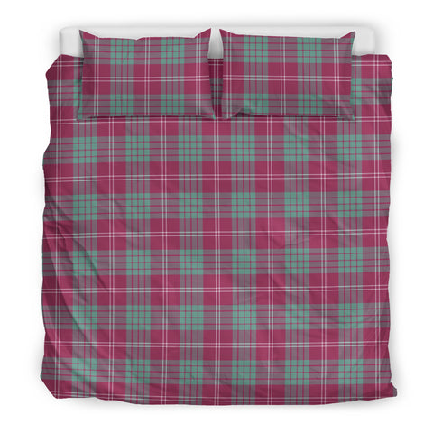 Image of Crawford Ancient tartan bedding, Crawford Ancient tartan duvet covers, Crawford Ancient plaid king bed, bedding sets queen, twin bedding sets