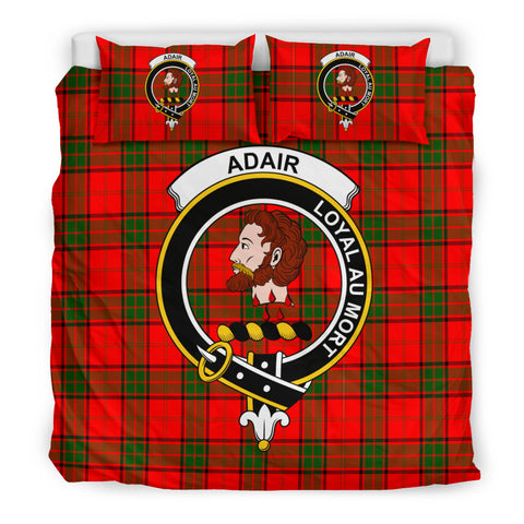 Adair Tartan Bedding Set - Clan Badge K7