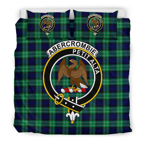 Abercrombie Tartan Bedding Set - Clan Badge K7