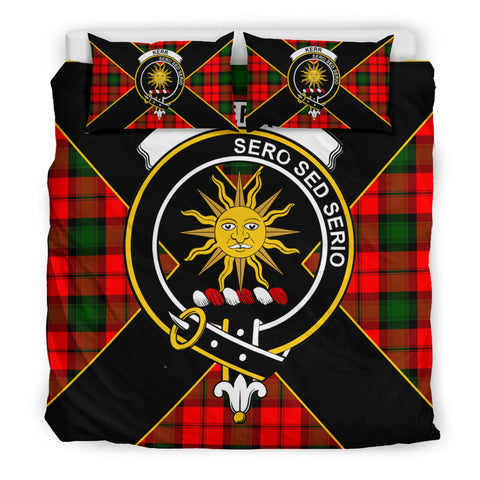Image of Kerr Tartan Duvet Cover Set - Luxury Style King Size