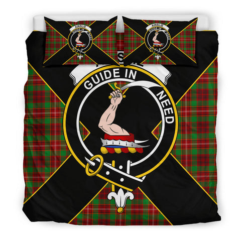 Ainslie Tartan Duvet Cover Set - Luxury Style King Size