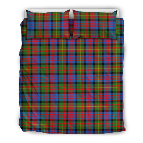 Image of Carnegie Ancient tartan bedding, Carnegie Ancient tartan duvet covers, Carnegie Ancient plaid king bed, bedding sets queen, twin bedding sets