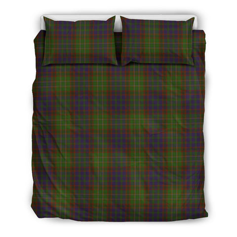 Image of Cunningham Hunting Modern tartan bedding, Cunningham Hunting Modern tartan duvet covers, Cunningham Hunting Modern plaid king bed, bedding sets queen, twin bedding sets