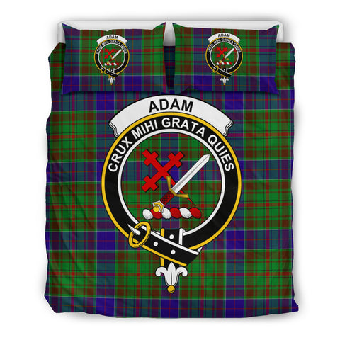 Adam Tartan Bedding Set - Clan Badge K7