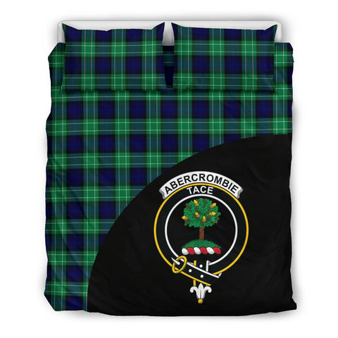 Abercrombie Tartan Clan Badge Bedding Set Wave Style
