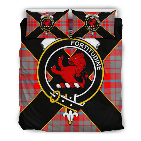 Image of Moubray Tartan Duvet Cover Set - Luxury Style Queen Size