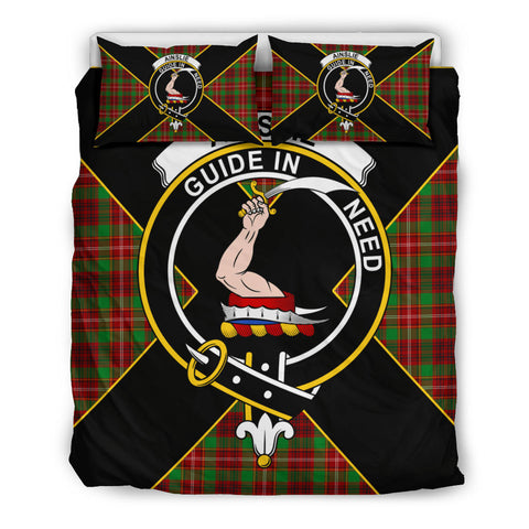 Ainslie Tartan Duvet Cover Set - Luxury Style Queen Size