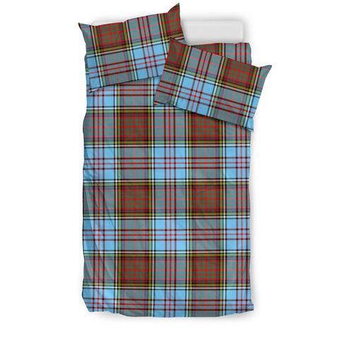 Image of Anderson Ancient tartan bedding, Anderson Ancient tartan duvet covers, Anderson Ancient plaid king bed, bedding sets queen, twin bedding sets