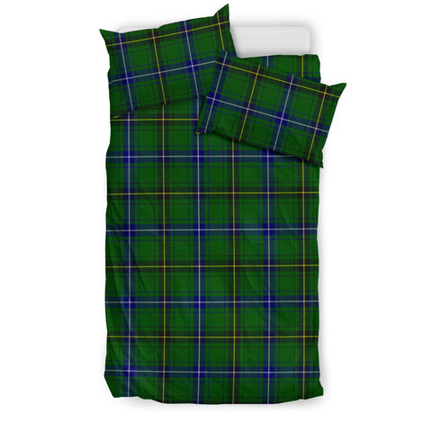Image of Henderson Modern tartan bedding, Henderson Modern tartan duvet covers, Henderson Modern plaid king bed, bedding sets queen, twin bedding sets
