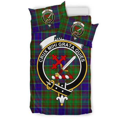 Adam Tartan Bedding Set - Clan Badge