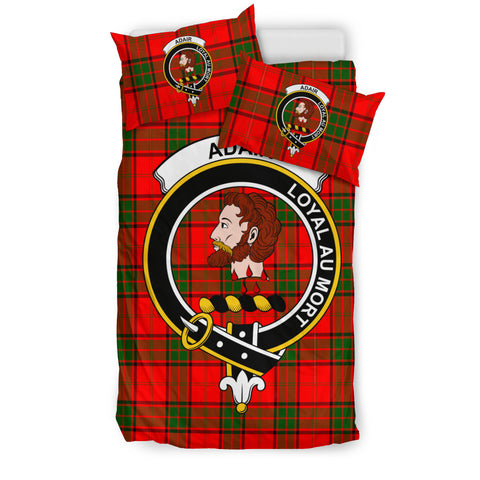 Adair Tartan Bedding Set - Clan Badge