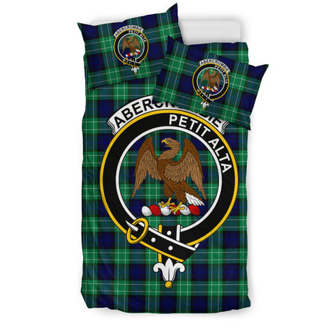 Abercrombie Tartan Bedding Set - Clan Badge