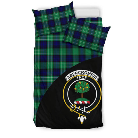 Abercrombie Tartan Clan Badge Bedding Set Wave Style TH8
