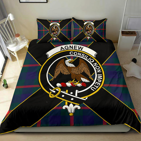 Agnew Tartan Duvet Cover Set - Luxury Style - BN