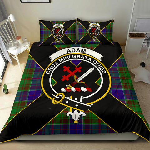 Adam Tartan Duvet Cover Set - Luxury Style - BN