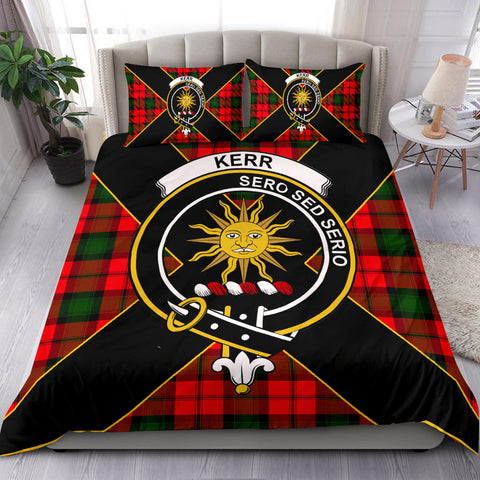 Kerr Tartan Duvet Cover Set - Luxury Style - BN