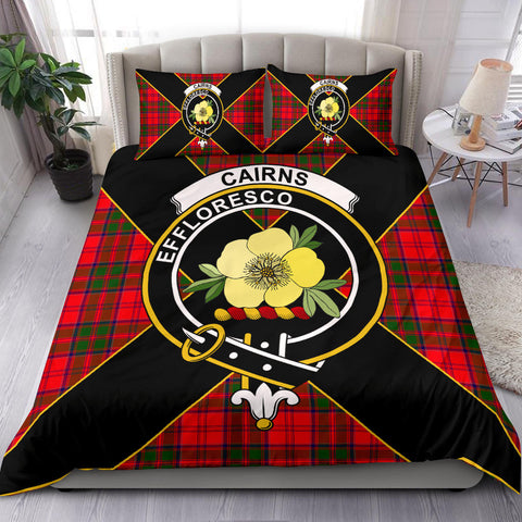 Cairns Tartan Duvet Cover Set - Luxury Style - BN