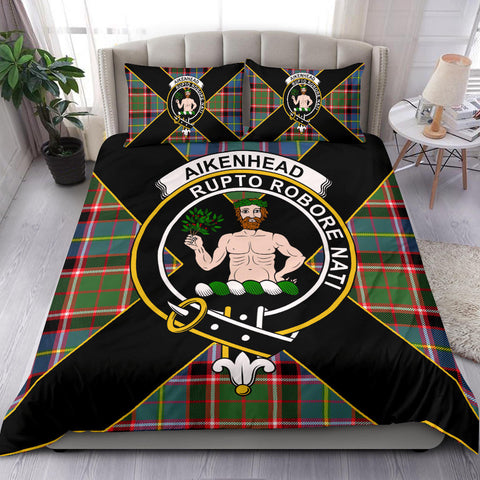 Image of Aikenhead Tartan Duvet Cover Set - Luxury Style - BN
