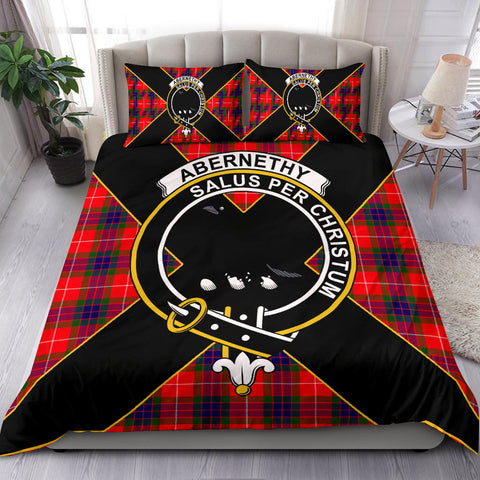 Abernethy Tartan Duvet Cover Set - Luxury Style - BN
