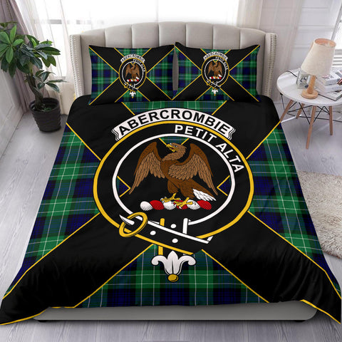 Image of Abercrombie Tartan Duvet Cover Set - Luxury Style - BN
