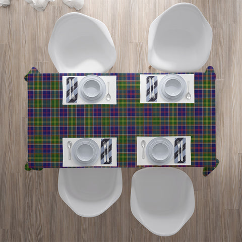 Image of Ayrshire District Tartan Tablecloth | Home Decor