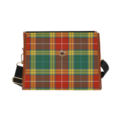 Buchanan Old Sett Tartan Canvas Bag | Special Custom Design