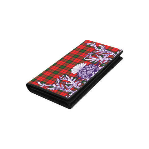 Kerr Modern Tartan Wallet Women's Leather Wallet A91 | Over 500 Tartan
