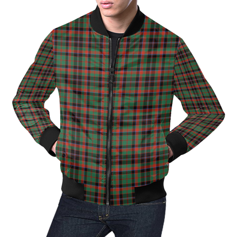 Cumming Hunting Ancient Tartan Bomber Jacket | Scottish Jacket | Scotland Clothing