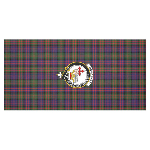 McDonald Crest Tartan Tablecloth A9