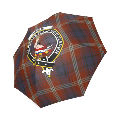 Image of Ainslie Crest Tartan Umbrella TH8