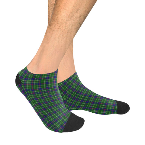 Duncan Modern Tartan Ankle Socks | scottishclans.co
