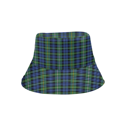 Campbell Argyll Ancient Tartan Bucket Hat for Women and Men K7