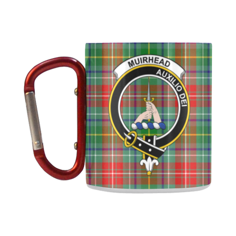 Muirhead Tartan Mug Classic Insulated - Clan Badge K7