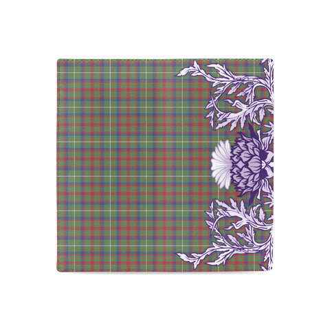 Shaw Green Modern Tartan Wallet Women's Leather Wallet A91 | Over 500 Tartan
