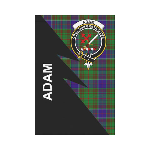 "Adam Tartan Garden Flag - Flash Style 12"" x 18"""